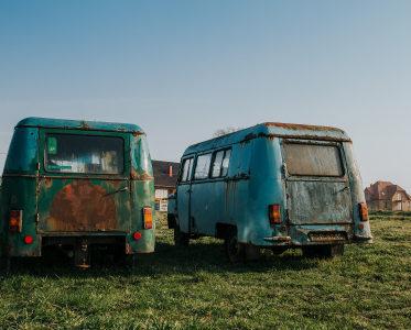 Zapomniana kolekcja starych aut